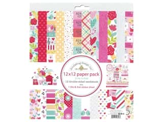 Doodlebug Collection Love Notes Paper Pack 12 in. x 12 in.