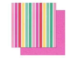 Doodlebug Collection Love Notes Paper 12 in. x 12 in. Lovers Lane (25 pieces)
