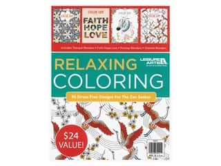 Leisure Arts Relaxing Coloring Book Bundle