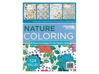 Leisure Arts Nature Coloring Book Bundle
