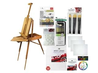 Art Advantage Art Set Acrylic Essentials Value Pack With French Easel