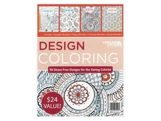 books & patterns: Leisure Arts Design Coloring Book Bundle