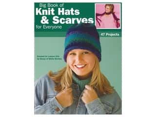 Leisure Arts Big Book of Knit Hats & Scarves for Everyone Book
