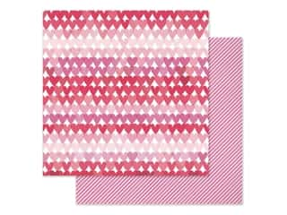 scrapbooking & paper crafts: Pink Paislee Collection Lucky Us Paper 12 in. x 12 in. Paper 8 (25 pieces)
