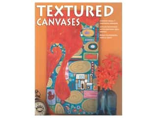 books & patterns: Leisure Arts Textured Canvases Book
