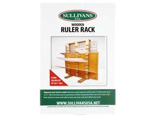 Sullivans Rack Wooden Ruler 18 in. x 12 in. x 2.5 in.
