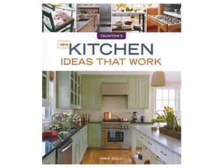 Taunton Press New Kitchen Ideas That Work Book