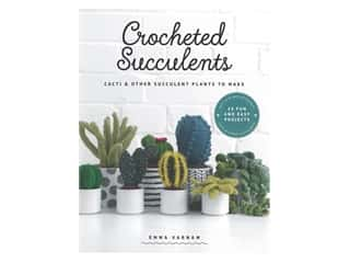 GMC Crocheted Succulents Book
