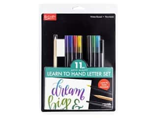 Leisure Arts Learn to Hand Letter Set