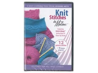 yarn: Leisure Arts Knit Stitches in Motion DVD