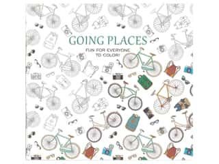 books & patterns: Leisure Arts Going Places Coloring Book