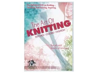 yarn: Leisure Arts The Art of Knitting DVD