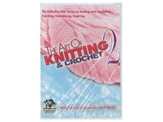 Leisure Arts The Art of Knitting & Crochet 2 DVD
