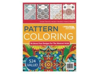 books & patterns: Leisure Arts Pattern Coloring Book Bundle