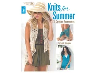 books & patterns: Leisure Arts Knits For Summer Book