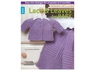 Leisure Arts Lace & Leaves For Baby Book