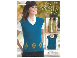 Leisure Arts Fresh Vests to Knit Book