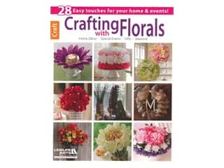books & patterns: Leisure Arts Crafting With Florals Book