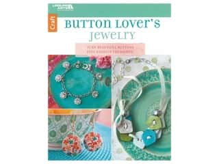 beading & jewelry making supplies: Leisure Arts Buttons Lovers Jewelry Book