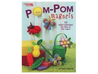 Magnets: Leisure Arts Pom-Pom Magnets Book