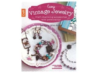 beading & jewelry making supplies: Leisure Arts Easy Vintage Jewelry Book