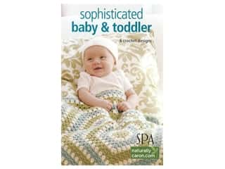 Leisure Arts Crochet Sophisticated Babies & Toddlers Book