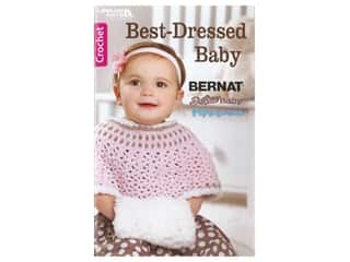 Leisure Arts Crochet Best Dressed Baby Book
