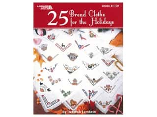 books & patterns: Leisure Arts 25 Bread Cloths For The Holidays Cross Stitch Book