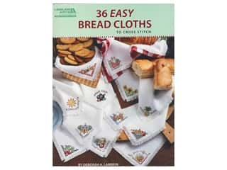 books & patterns: Leisure Arts 36 Easy Bread Cloths To Cross Stitch Book