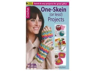 Leisure Arts One Skein (Or Less!) Projects Crochet Book
