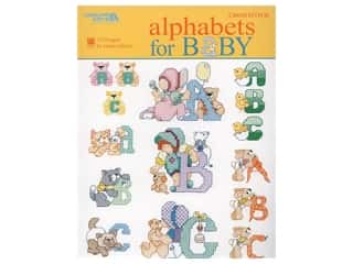 books & patterns: Leisure Arts Alphabets For Baby Cross Stitch Book