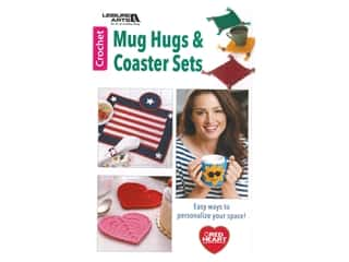 Leisure Arts Mug Hugs And Coaster Sets Crochet Book