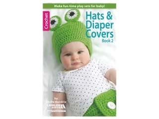 Leisure Arts Hats & Diaper Covers Crochet Book 2