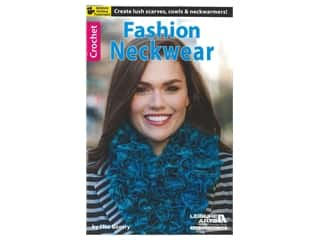 Leisure Arts Fashion Neckwear Crochet Book