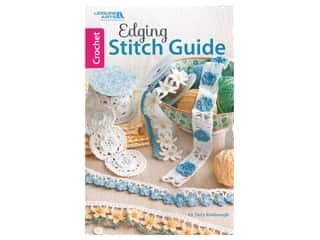 books & patterns: Leisure Arts Crochet Edging Stitch Guide Book