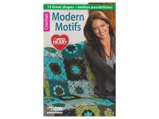 Leisure Arts Modern Motifs Crochet Book