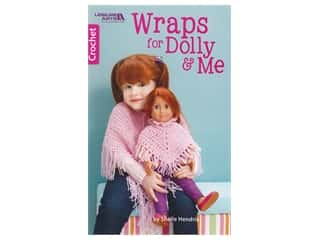 Leisure Arts Wraps For Dolly & Me Crochet Book