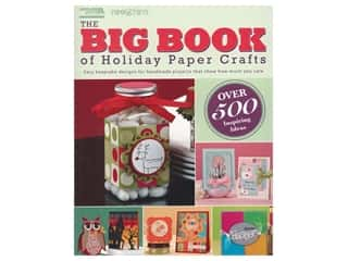 scrapbooking & paper crafts: Leisure Arts The Big Book Of Holiday Paper Crafts Book