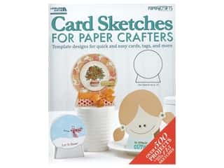 scrapbooking & paper crafts: Leisure Arts Card Sketches For Paper Crafters Book