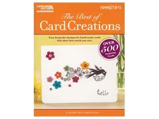scrapbooking & paper crafts: Leisure Arts The Best of Card Creations Book