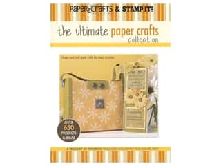 scrapbooking & paper crafts: Leisure Arts The Ultimate Paper Crafts Collection Book