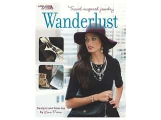 beading & jewelry making supplies: Leisure Arts Wanderlust Jewelry Book