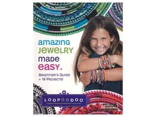 beading & jewelry making supplies: Leisure Arts Amazing Jewelry Made Easy Book