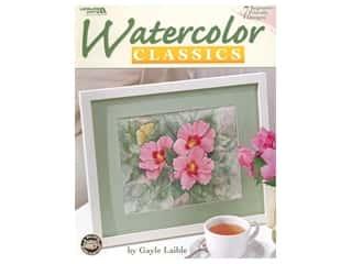 books & patterns: Leisure Arts Watercolor Classics Book