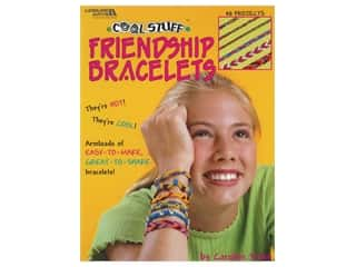 books & patterns: Leisure Arts Cool Stuff Friendship Bracelets Book