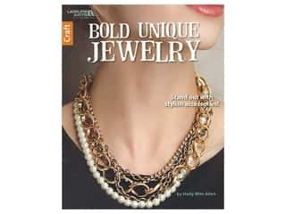 beading & jewelry making supplies: Leisure Arts Bold Unique Jewelry Book