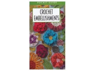 books & patterns: Leisure Arts Crochet Embellishments Pocket Guide Book
