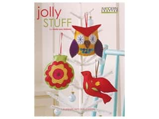 Leisure Arts Modern Crafter Jolly Stuff Book