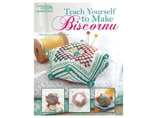 Leisure Arts Teach Yourself To Make Biscornu Book