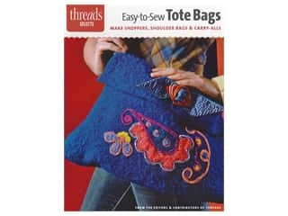 Taunton Press Threads Easy To Sew Tote Bags Book